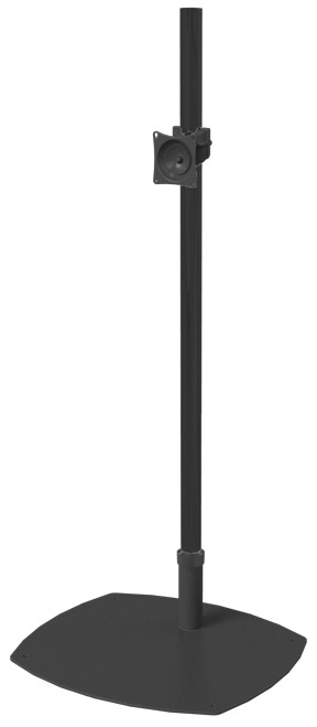 premier mounts single one pole plasma lcd led tv monitor floor stand rental for seattle. Black Bedroom Furniture Sets. Home Design Ideas
