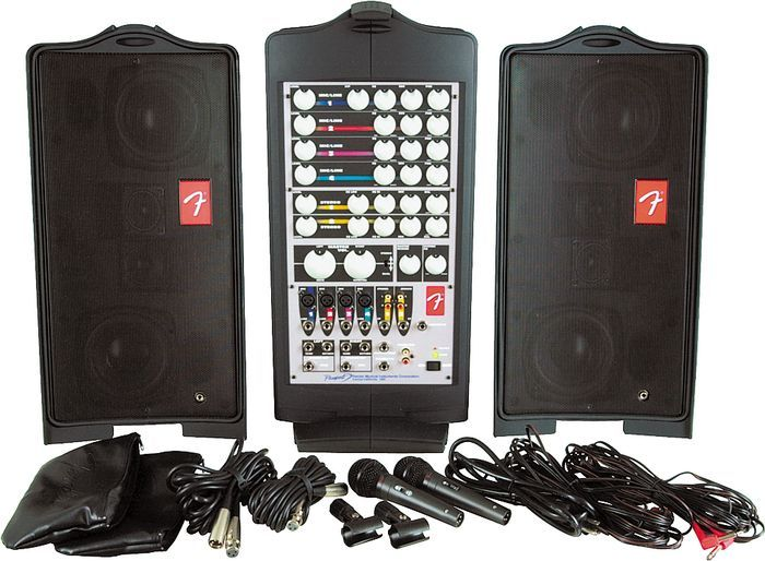 Fender Passport 250 Portable Pa System Rental For Seattle